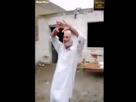 sata Chargul Salor Pare Pashto Mast Dance . old man danc