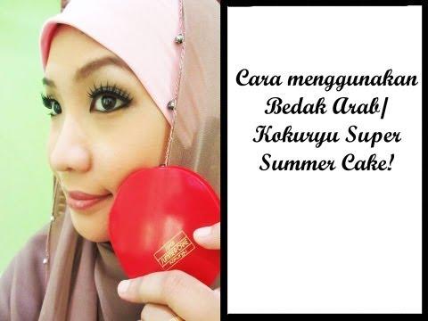 Cara Menggunakan Bedak Arab / Kokuryu Super Summer Cake from YouTube · Duration:  5 minutes 46 seconds