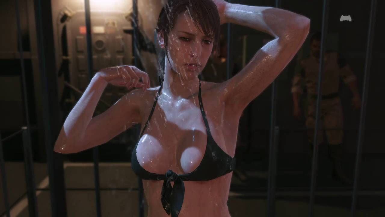 Metal Gear Solid V クワイエット エロい入浴シーン