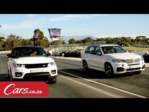 Drag race: BMW X5 M50d versus Range Rover Sport Supercharged V8
