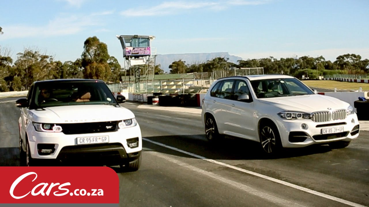 Drag Race Bmw X5 M50d Versus Range Rover Sport Supercharged V8 You