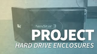 Hard Drive Enclosures - Project - SWS Computers
