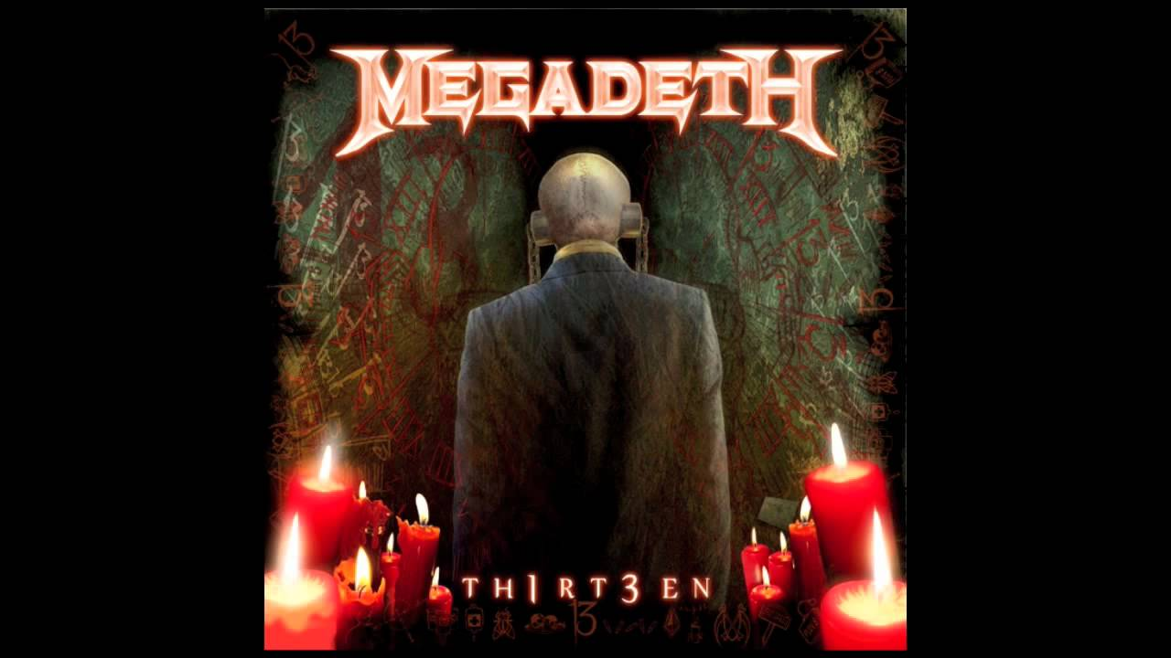 "Megadeth — ""Never Dead"" — TH1RT3EN"
