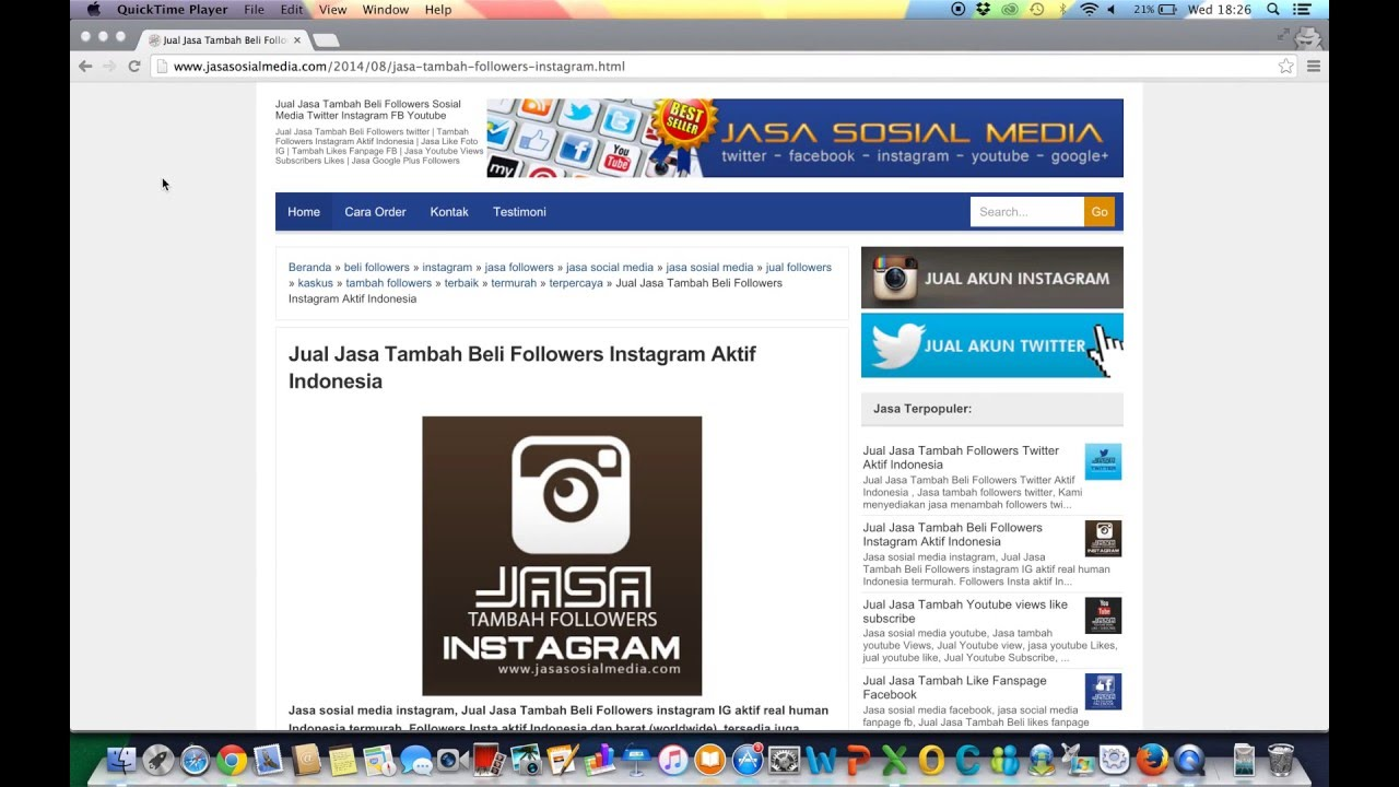 Jual Jasa Tambah Follower Instagram Aktif Indonesia Murah Youtube