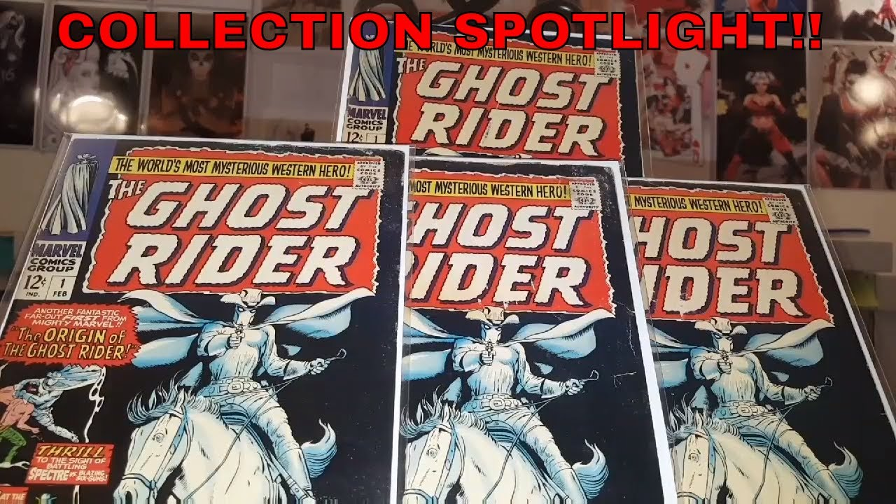 COLLECTION SPOTLIGHT #1: WESTERN GHOST RIDER, CARTER SLADE!!