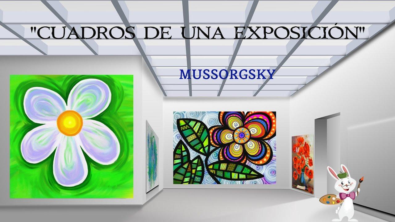 Cuadros de una exposici n mussorgsky m sica cl sica - Cuadros decorativos para ninos ...