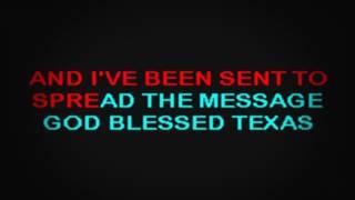 SC2117 07 Little Texas God Blessed Texas [karaoke]