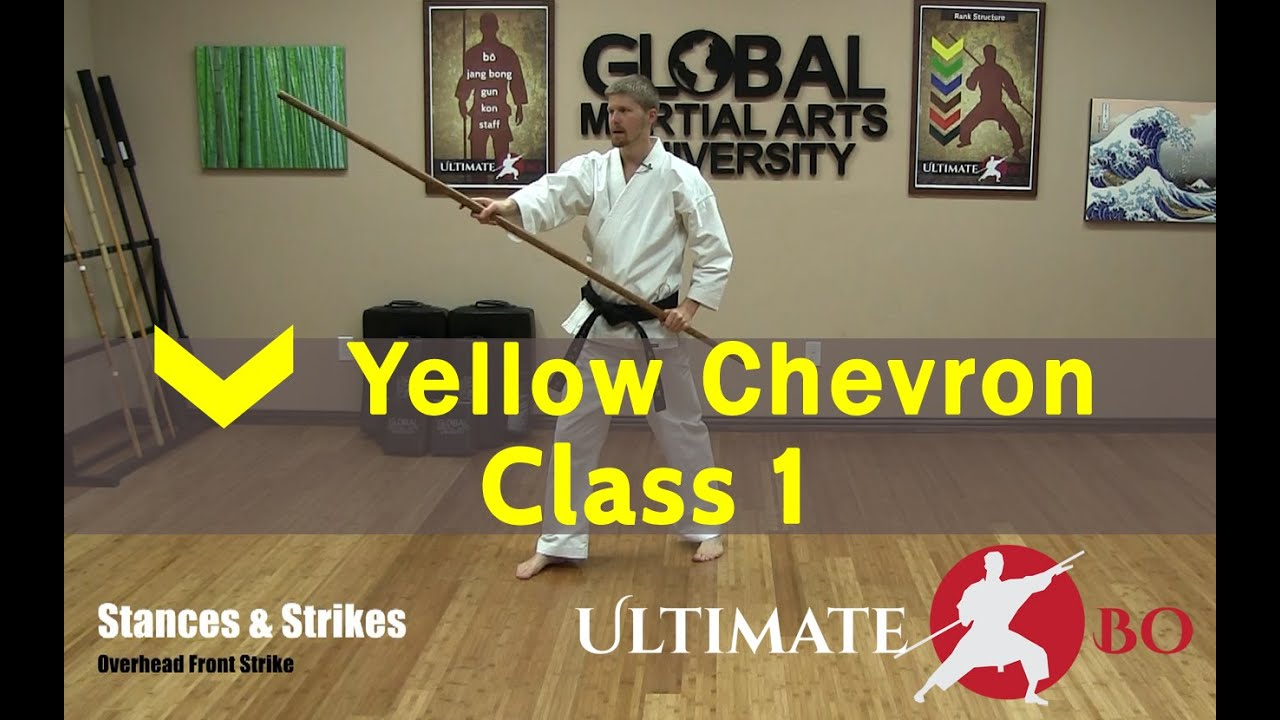 Download Bo Staff Class for Complete Beginners - Yellow Chevron - Class #1
