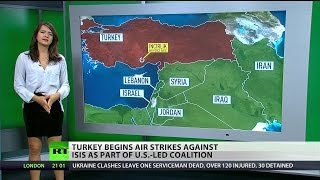 Turkey combatting PKK under guise of targeting ISIS