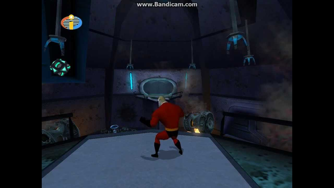 The Incredibles Video Game Walkthrough Part 32 Rocket