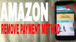 ✅  How To Remove Payment Method On Amazon ?