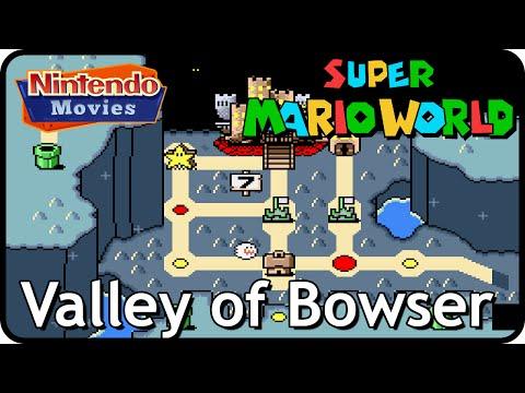 Super Mario World - World 7: Valley of Bowser (Multiplayer Walkthrough,  All Exits)