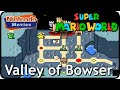 Super Mario World - World 7: Valley of Bowser (Multiplayer Walkthrough,  All Exits)