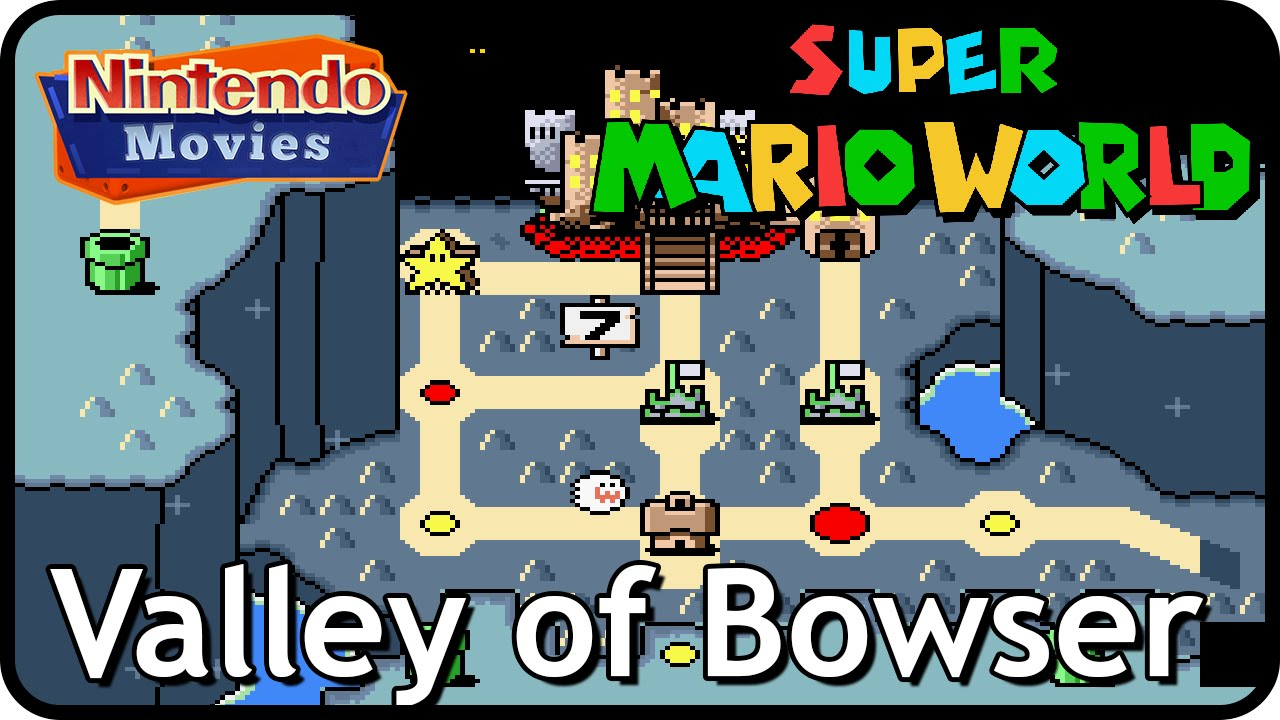 Super Mario World World 7 Valley Of Bowser Multiplayer Walkthrough All Exits
