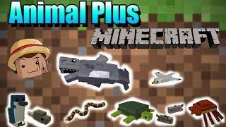 Minecraft Mod [ Animals Plus ] 1.8 Animales sencillos para Minecraft.