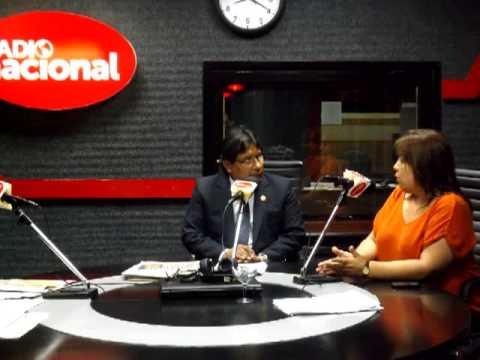 Giovanna Peñaflor, Directora de la Empresa Imasen S.A.  en Radio Nacional del Perú