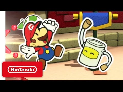 Paper Mario: Color Splash - Time to Make a Splash!