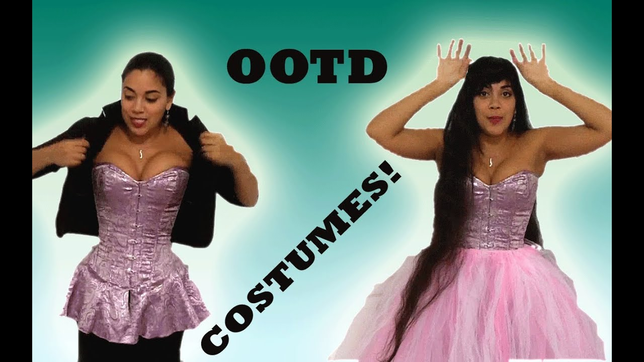 COSTUMES with a SKIRTED CORSET - Halloween, 80\'s Party, Cosplay ...