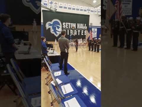 Nikki Briar - National Anthem Seton Hall University