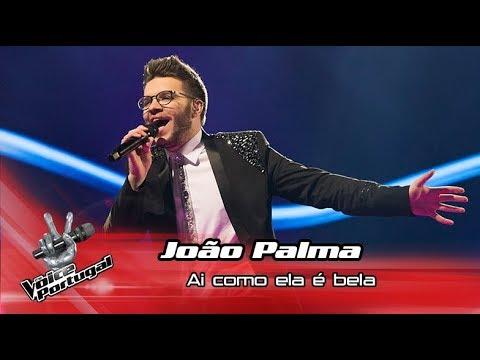 João Palma - 'Ai como ela é bela'   Gala   The Voice Portugal