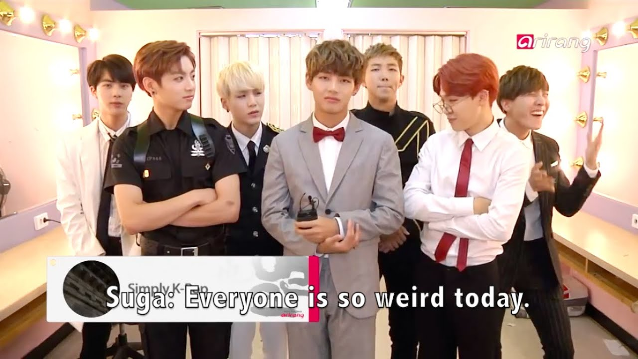 Girls Without Clothes Wallpaper Eng Sub 150702 Bts Speaking English For The Preview Of