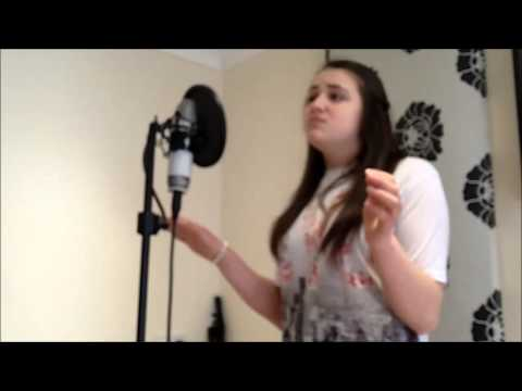 13 year old kelsey Barr sings don't you remember cover