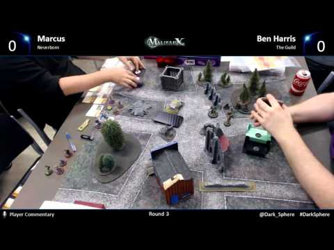 Rebels & Rioters - Round 3 - Marcus v Ben Harris (no sound)