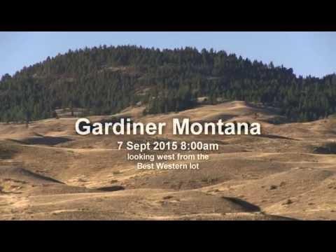Gardiner Montana on the Yellowstone River