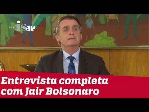 Exclusivo: Bolsonaro fala à Jovem Pan