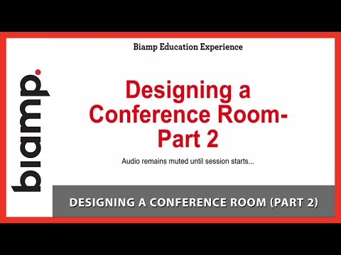Biamp Tesira: Designing a Conference Room (Part 2)