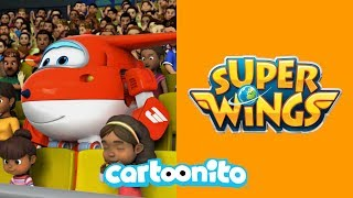 Super Wings | Let's Play Badminton | Cartoonito UK 🇬🇧
