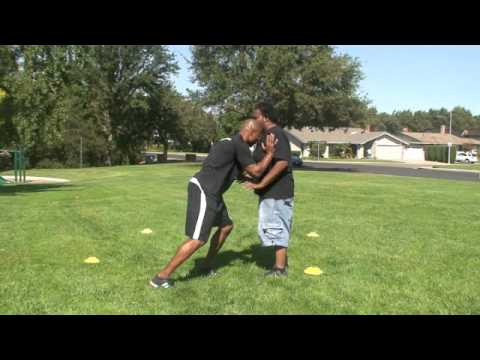 Donovin Darius:Football/ Defending the Stalk Block