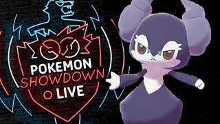 Enter INDEEDEE! Pokemon Sword and Shield! Indeedee Pokemon Showdown Live!