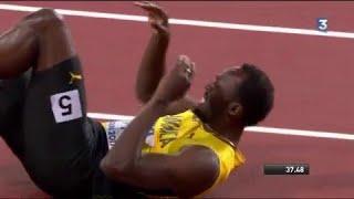 Mondiaux d'athlétisme : Usain Bolt se claque pour sa dernière course ! La Grande-Bretagne en or !