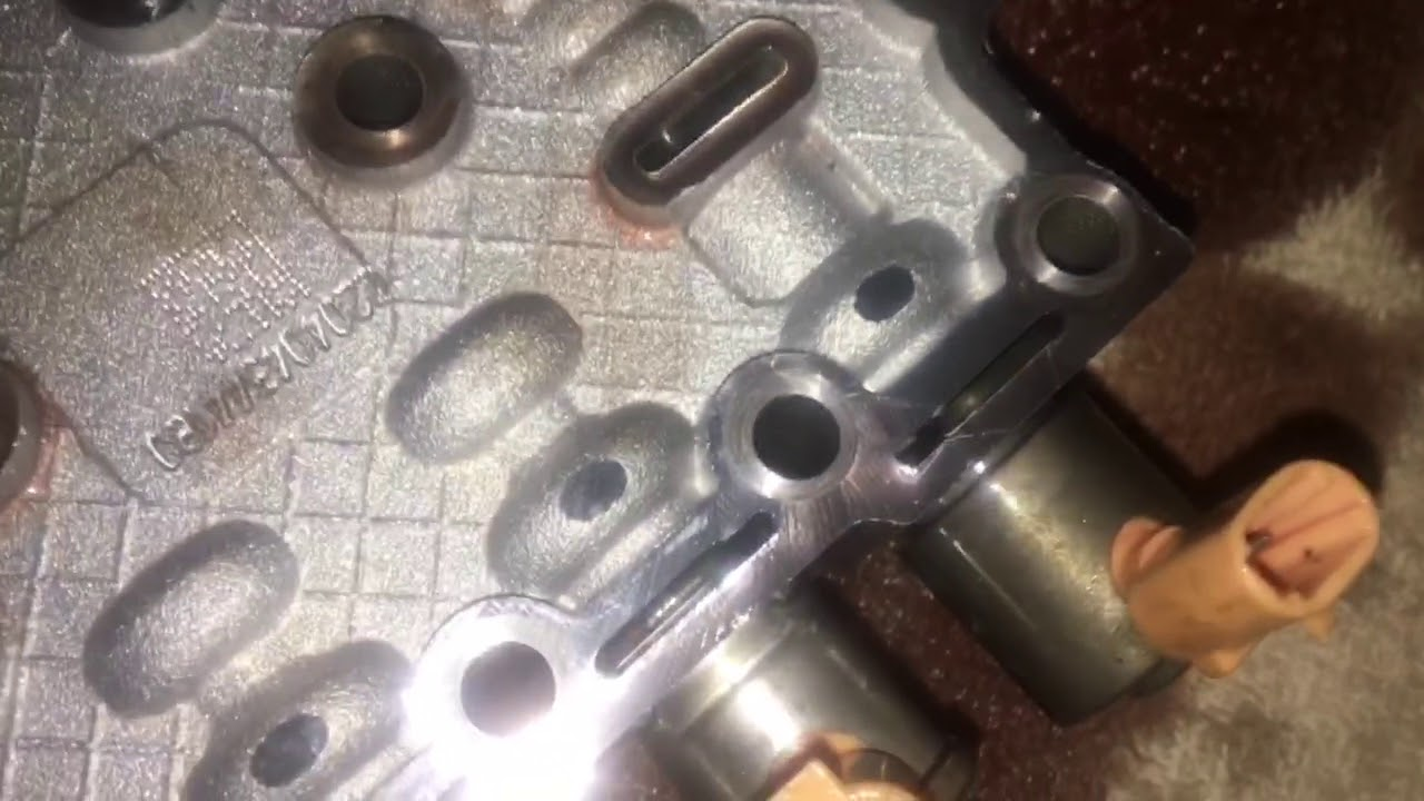 Allison 1000 e valve stuck removal of valve body