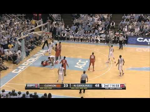 UNC Men's Basketball: Highlights vs. Clemson