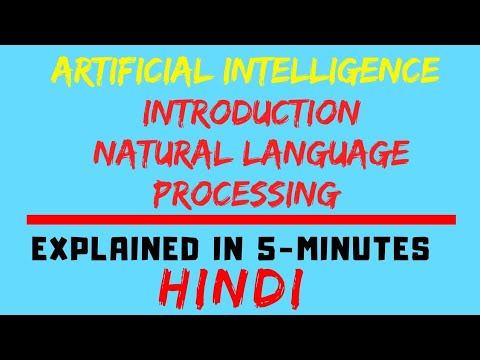 Introduction To Natural Language Processing In Artificial Intelligence (HINDI)