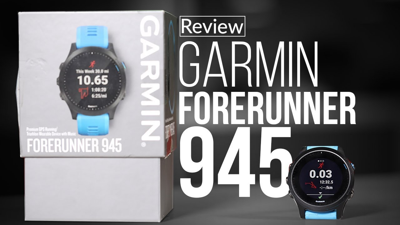 Garmin Forerunner 945 Smartwatch Hindi Review
