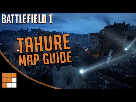 Battlefield 1 Prise de Tahure Map Overview