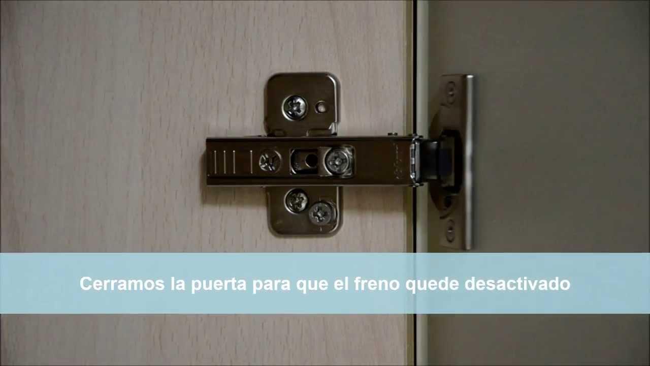 Montar y desmontar puerta con bisagra blum clip top blumotion ...
