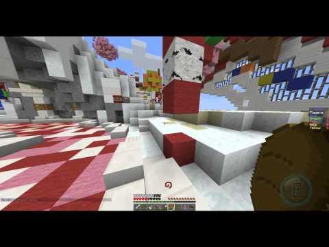 Candyland  Walls - Hypixel Minecraft Gamemode