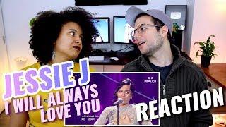 Jessie J - I Will Always Love You | Whitney Houston | Episode 13 | Singer 2018 | REACTION
