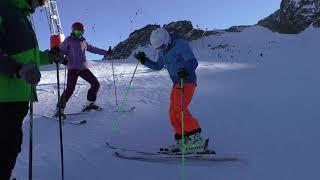 Технический курс в Австрии, ноябрь 2018. Горные лыжи