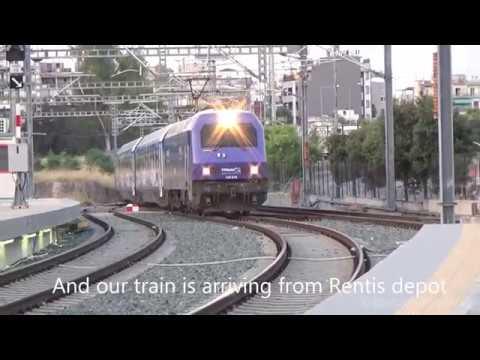 Train trip: IC Express Athens-Thessaloniki
