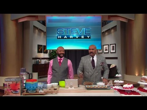 Perfect Bake on Steve Harvey with Rushion McDonald - January 2017