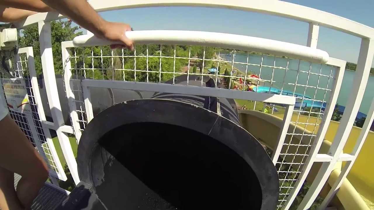 how to make a mini water slide