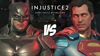 Batman VS Superman Injustice 2 Gameplay Versus PS4