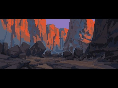 How to Sketch a Pixel Art Landscape