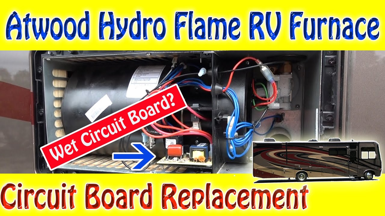 Atwood Hydro Flame RV Furnace - Circuit Board Replacement - YouTube | Hydro Flame Furnace Wiring |  | YouTube