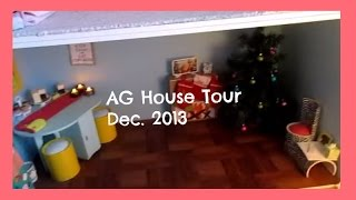 American Girl Doll House Tour! (dolliday Edition 2013)